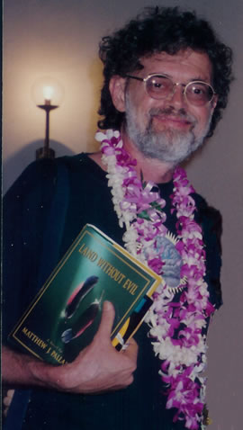 "Terence McKenna reading ""Land Without Evil"" by Matthew Pallamary"